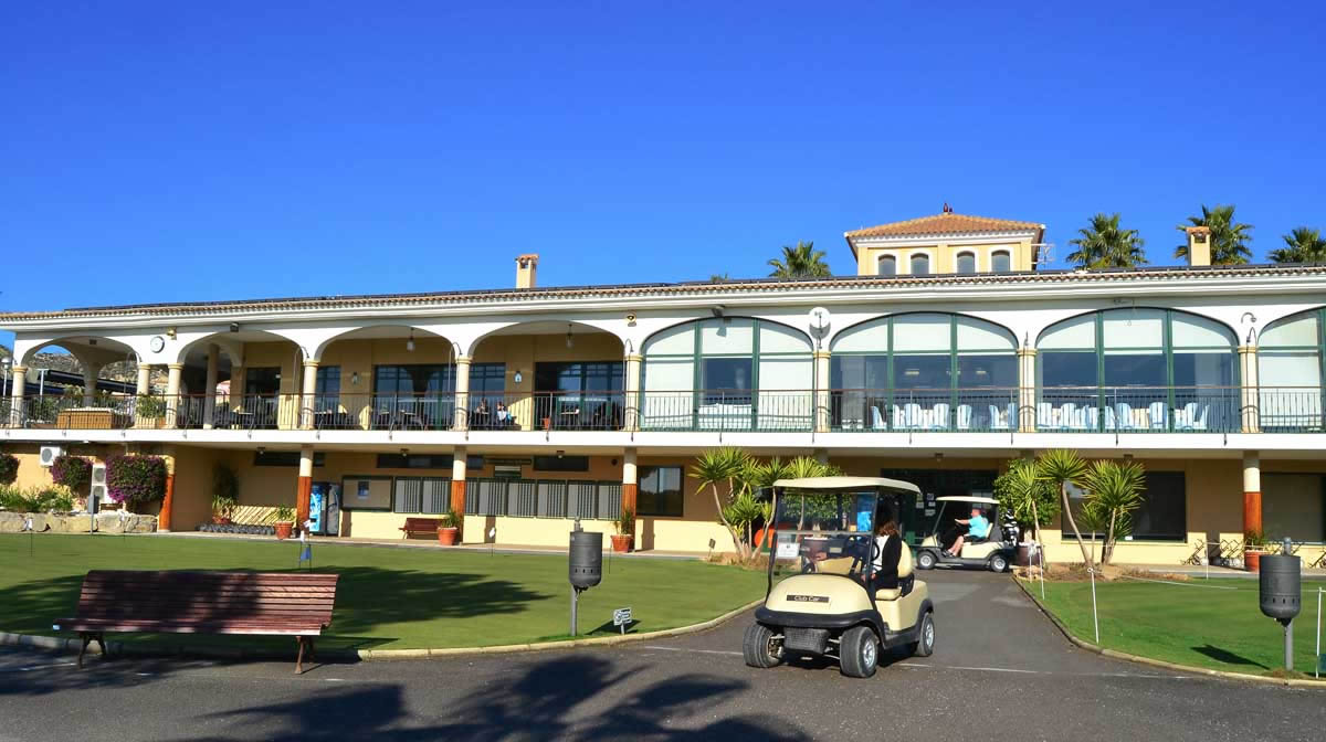 another view of the clubhouse at Bonalba golf course near Alicante