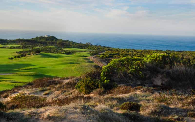 the 7th hole at Oitavos