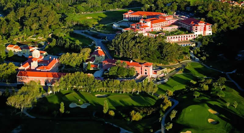 ariel view of the Penha Longa Hotel - Sintra