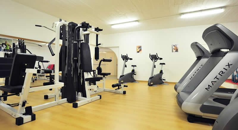 another view of the fitness room