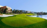 apartments by the 2nd green of the alicante golf club