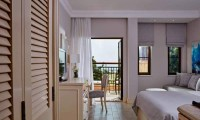 a luxury suite at the aphrodite hills golf and spa resort hotel