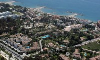 ariel view of the hotel blue bay banus