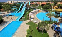 the hotel water park