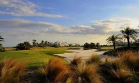 the 8th green at la torre golf course
