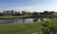 the green on the 5th hole of La Torre