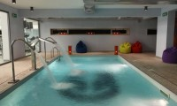 the indoor pool