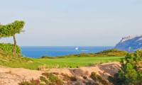 the 6th green at Oitavos Dunes