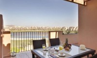 a balcony overlooking the mar menor golf course